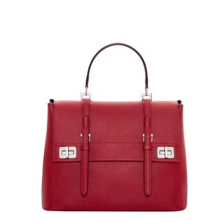 Prada Saffiano Cuir Leather Satchel