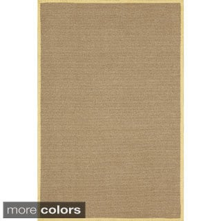 Delight Butter/ Wheat Rectangular Nylon Rug (5' x 7')