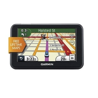 Garmin nuvi 40LM 4.3-Inch Portable GPS Navigator with Lifetime Maps (Refurbished)
