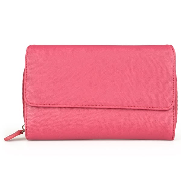 Mundi Women's Textured Big Clutch Wallet