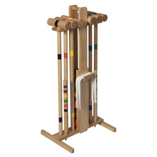 Lion Sports Premier 6 Player 33-inch Croquet Set