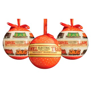 Lionel Outdoor Ornaments Series 1 (Set of 3)