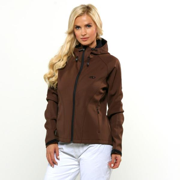 Marker Women's Soft Shell Espresso Jacket