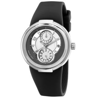 Philip Stein Unisex 'Active' 31-AGRW-RBB Black Rubber Watch