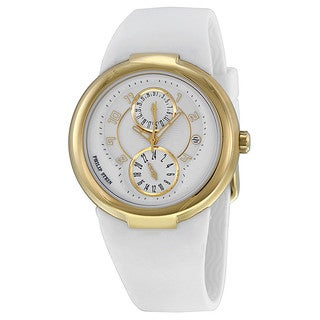 Philip Stein Women's 'Active' 31-AGW-RW White Rubber Watch