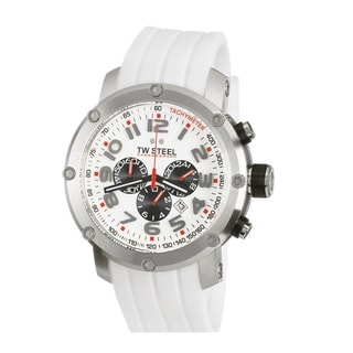 TW Steel Men's 'A1 GP' Stainless Steel Chronograph and Tachymeter TW604 Watch
