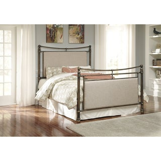 Signature Design by Ashley Copper Finish Metal Bed