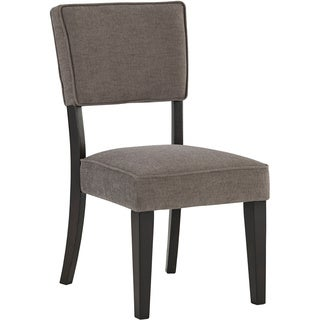Signature Design by Ashley Gavelston Grey Side Chair (Set of 2)
