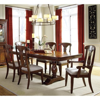 Signature Design by Ashley Leximore Dark Brown 7-piece Dining Set