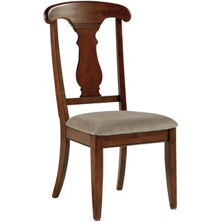 Signature Design by Ashley Leximore Dark Brown Upholstered Side Chair (Set of 4)