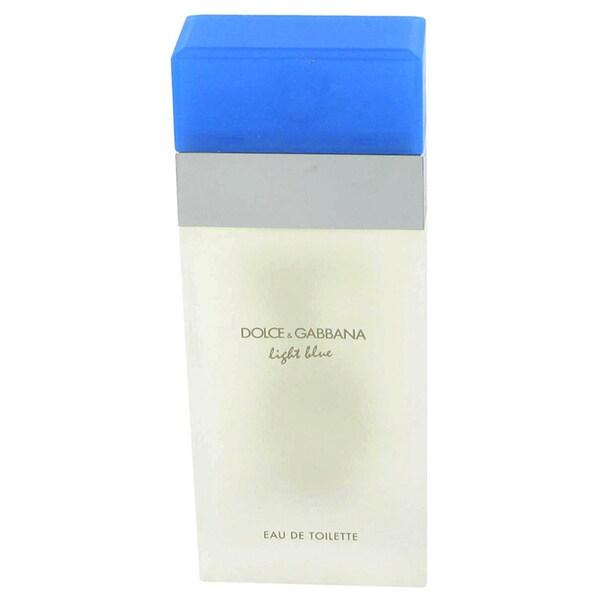 Dolce & Gabbana Light Blue Women's 3.4-ounce Eau de Toilette Spray (Tester)