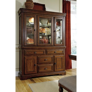 Signature Design by Ashley Leximore Dark Brown Server and Hutch