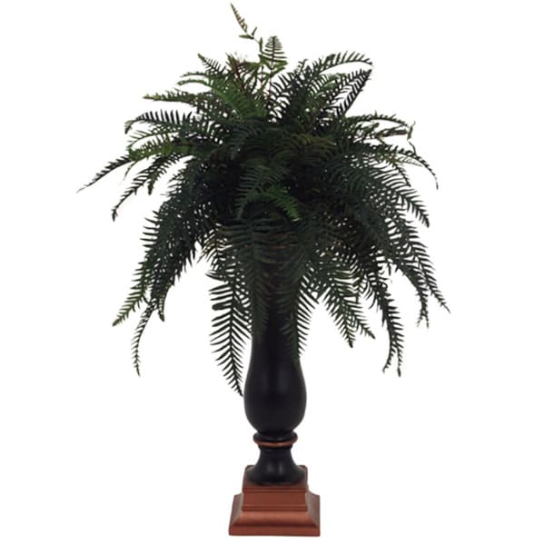 Sleek Silk Decorative Fern