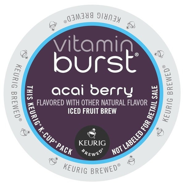 Vitamin Burst Acai Berry, K-Cup Portion Pack for Keurig Brewers (48 or 96 count)