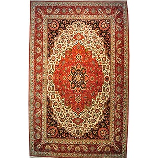 Hand-knotted Mansion Size Signed Persian Bakhtiari (17' x 27')