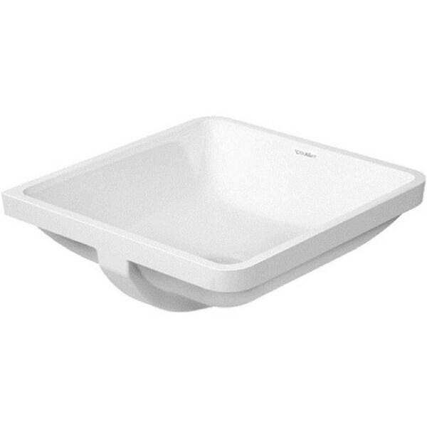 Duravit Porcelain White Undercounter Sink
