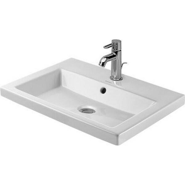 Duravit WonderGliss White Vanity Basin