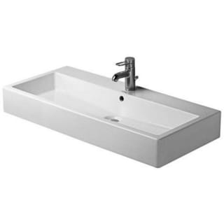 Duravit 39.375-inch Vero White Washbasin with Overflow