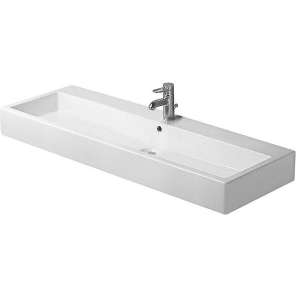 Duravit 47.25-inch Vero White WGL Washbasin