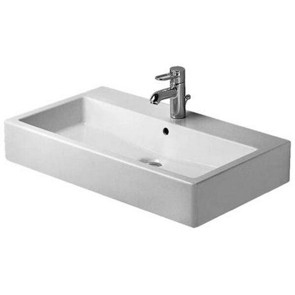 Duravit 31.5-inch Vero WGL White Washbasin
