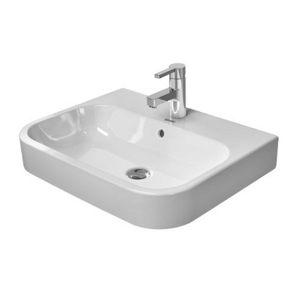 Duravit Happy D.2 Washbowl with Overflow and Tap Platform