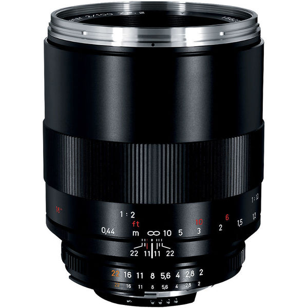 Zeiss Makro-Planar T* 100mm f/2 ZF.2 Lens for Nikon F-Mount Cameras