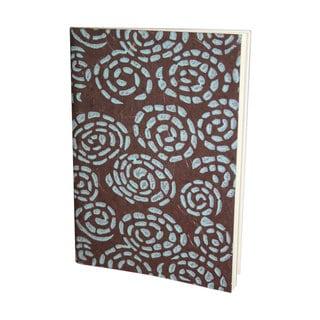 Whirlpool Handmade Brown and Blue Journal (India)