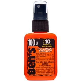 AMK Ben's 100 Max Pump 1.25-ounce Spray Repellent