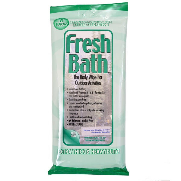 AMK Fresh Bath Wipes (Pack of 8)