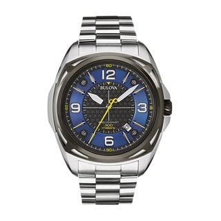 Bulova Men's 98B224 Stainless Steel Precisionist Watch