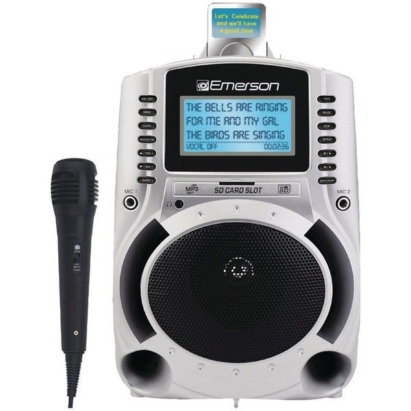 Emerson Portable Karaoke MP3 Player