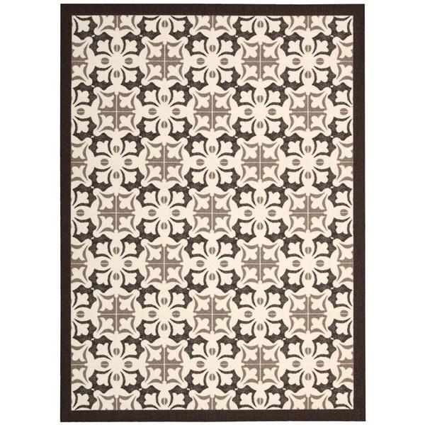 Rug Squared Milford Brown Rug (8' x 10')