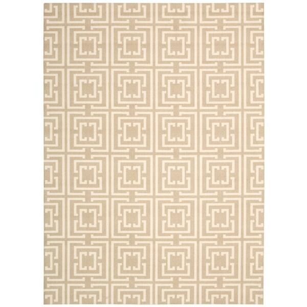 Rug Squared Milford Tan Rug (8' x 10')