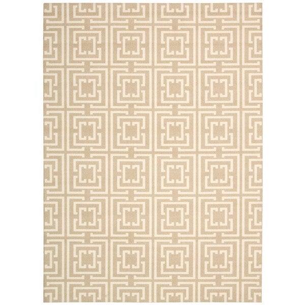 Rug Squared Milford Tan Rug (4' x 6')