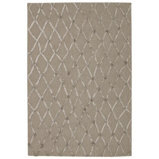 Rug Squared Saratoga Silver Rug (4'x6')