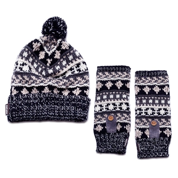 Traditional Armwarmers & Cuff Cap Set
