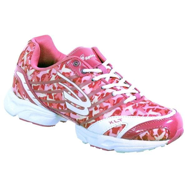 duck dynasty by spira s pink camo running shoes