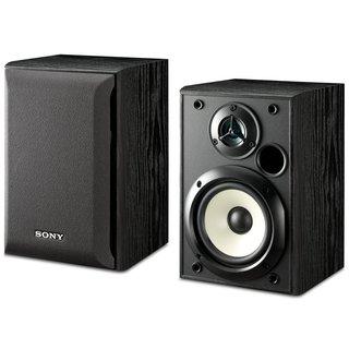 Sony SS-B1000 Black 5.25-inch Bookshelf Speakers Pair (Refurbished)