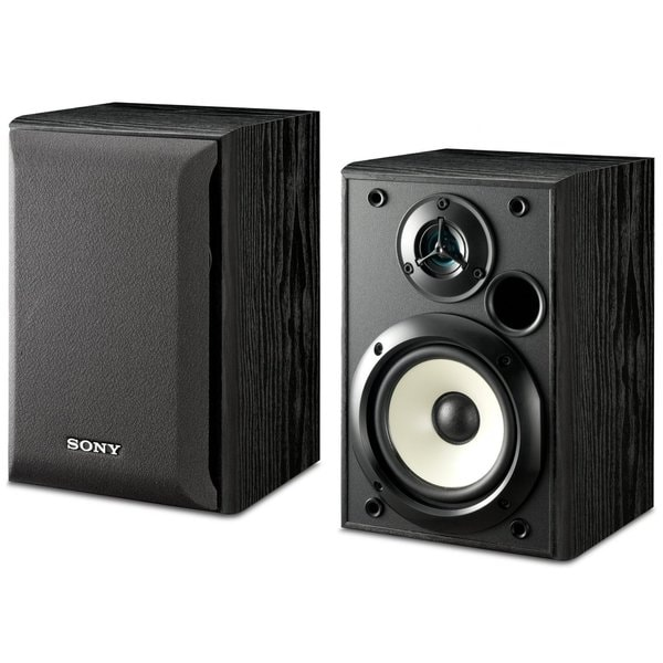 Sony SS-B1000 Black 5.25-inch Bookshelf Speakers Pair (Refurbished)