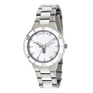 Game Time Women's Texas Longhorns Logo Pearl Watch
