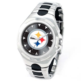 Game Time Men's Pittsburgh Steelers Victory Watch