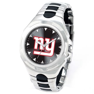 Game Time Men's New York Giants Victory Stainless Steel Timepiece