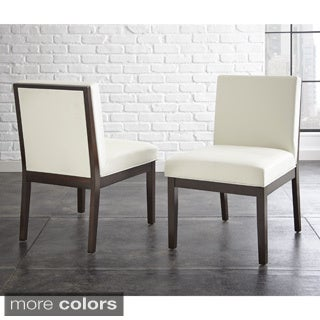 Zuri Bonded Leather Chair (Set of 2)