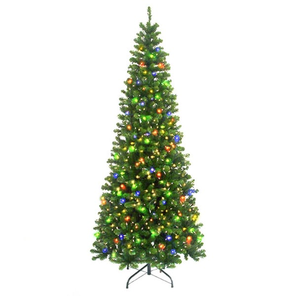 6-foot 6-inch Pre-lit New England Pine