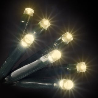 50 LED Warm White Lights UL Standard