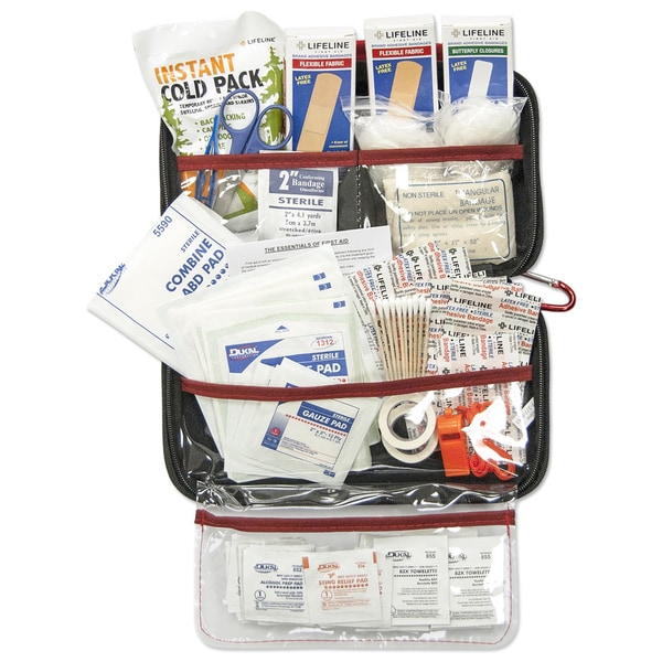 Lifeline AAA Road Trip 121-piece Kit