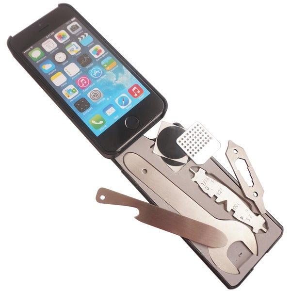 MyTask Bike iPhone 5/ 5s Case with Bicycle Tools