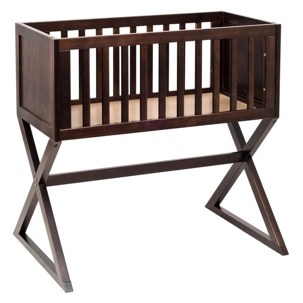 Babyletto Bowery Bassinet In Espresso Finish