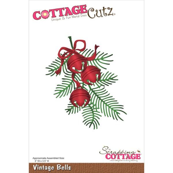 CottageCutz Die-Vintage Bells