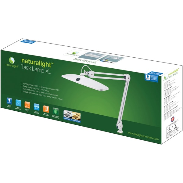 Naturalight Task Lamp LED XL-White
